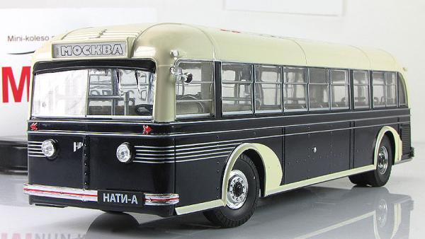 НАТИ-А (опытный) (ULTRA Models) [1938г., бежевый/черный, 1:43]
