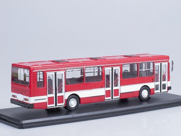ЛИАЗ-5256 (Start Scale Models (SSM)) [1989г., красный/белый, 1:43]