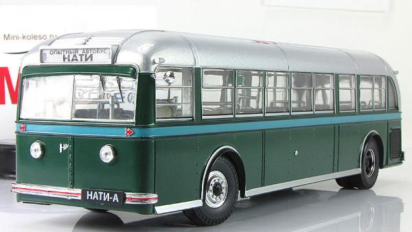 НАТИ-А (опытный) (ULTRA Models) [1938г., зеленый/серебристый, 1:43]