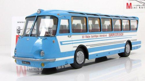 """ЛАЗ  """"Украiна-67 (Vector-Models) [1967г., голубой/белый, 1:43]"""