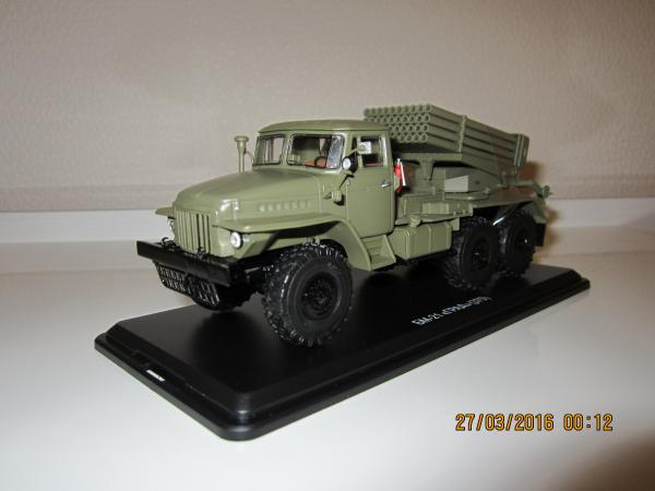 БМ-21(375)ГРАД (Start Scale Models (SSM)) [1963г., хаки, 1:43]