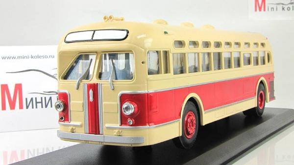 ЗИС-154 (Classicbus) [1947г., красный/желтый, 1:43]