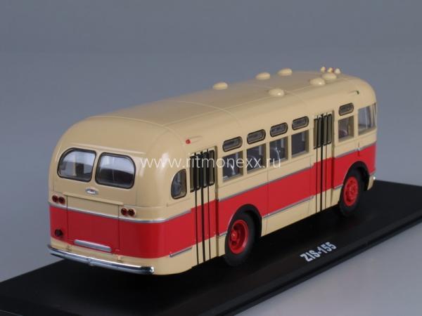 ЗИС-155 (Classicbus) [1949г., бежевый/красный, 1:43]