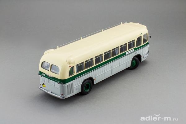ЗИС 127, маршрут «Москва - Ленинград» (DiP Models) [1955г., бежевый, зеленый, серый, 1:43]