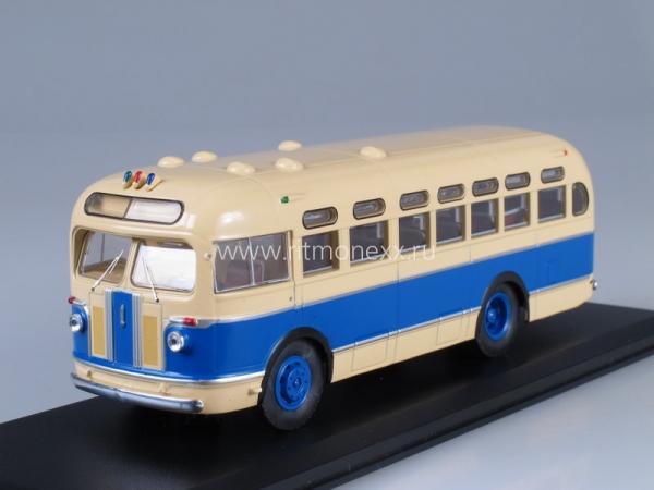 ЗИС-155 (Classicbus) [1949г., бежевый/синий, 1:43]