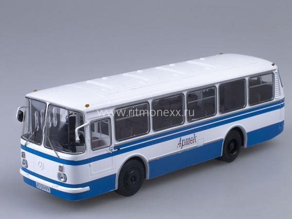 """ЛАЗ-695Н """"Львiв (Советский автобус) [1976г., белый/синий, 1:43]"""