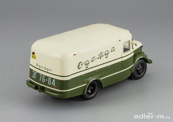 ПАЗ-661 (DiP Models) [1956г., хаки/бежевый, 1:43]