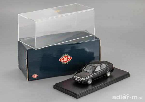 LADA PRIORA ВАЗ 2170 (DiP Models) [2010г., черный, 1:43]