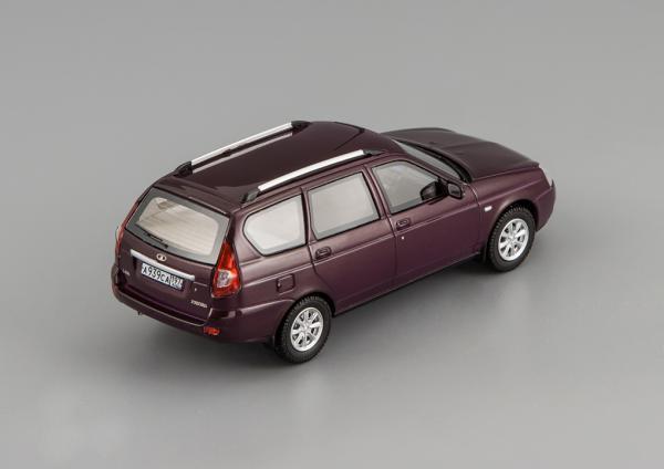 LADA PRIORA ВАЗ 2171 (DiP Models) [2010г., феолетовый, 1:43]