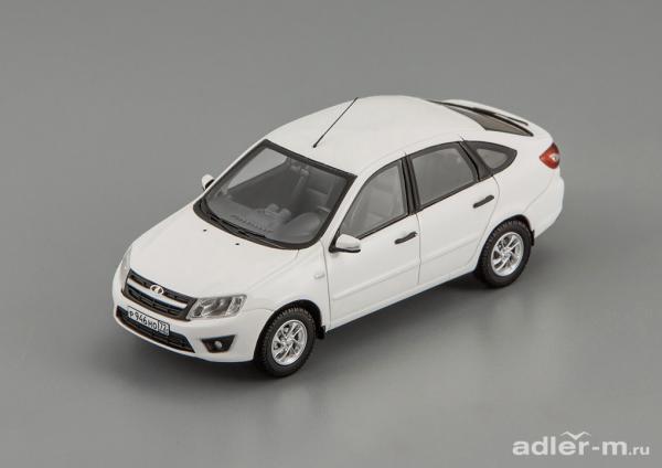 LADA Granta ВАЗ 2191 (DiP Models) [2014г., белый, 1:43]