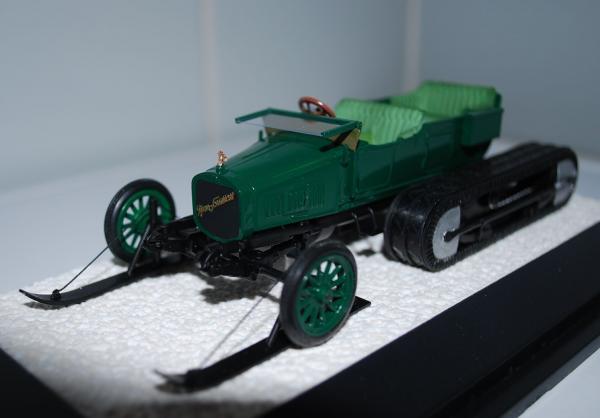 Руссо-Балт С 24/30 - Кегресс (Lakhterman & Kiriletz) [1913г., зеленый, 1:43]