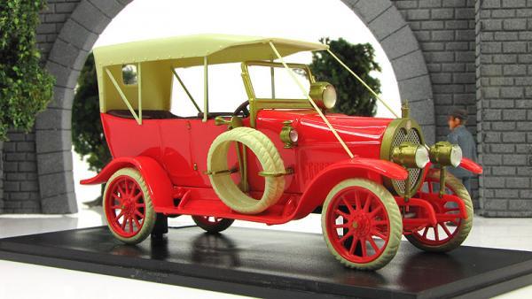 Руссо-Балт  Е15/35 Торпедо (Империал) [1914г., красный, 1:43]