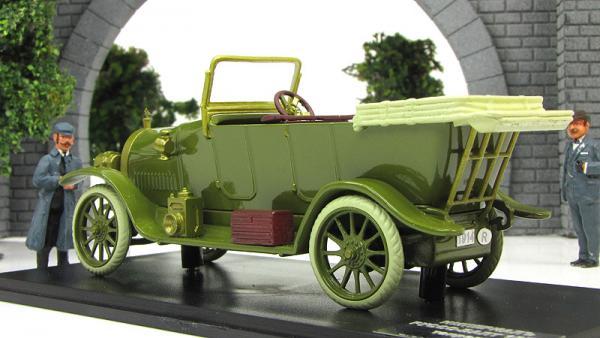 Руссо-Балт Е15/35 Торпедо.открытый (Империал) [1914г., зеленый, 1:43]