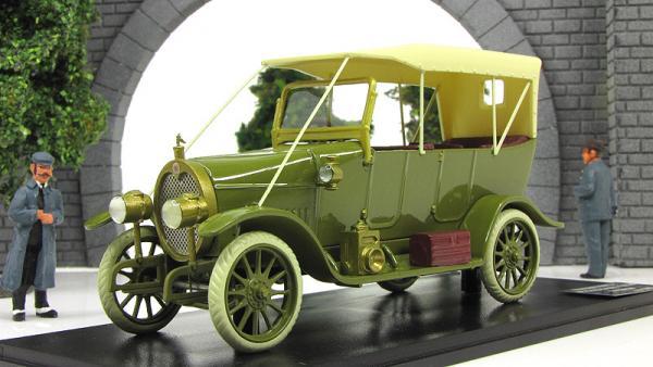 Руссо-Балт Е15/35 Торпедо (Империал) [1914г., зеленый, 1:43]