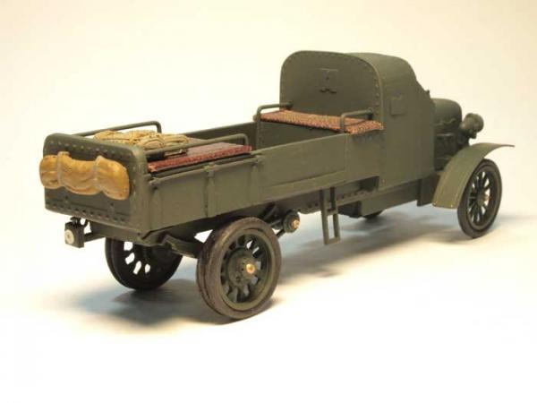 Руссо-Балт М24/40 бронированный (Студия МАЛ / Lermont) [1915г., зеленый, 1:43]