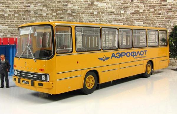 ИКАРУС(Ikarus)-260 «Аэрофлот» (Classicbus) [1972г., охра, 1:43]