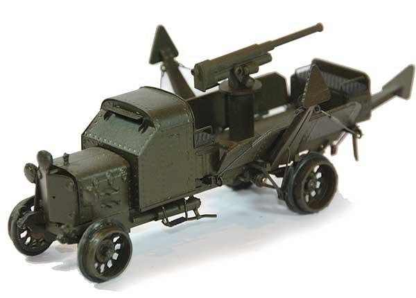 Руссо-Балт Т 40/65 бронированный, с зенитным орудием (Студия МАЛ / Lermont) [1915г., зеленый, 1:43]
