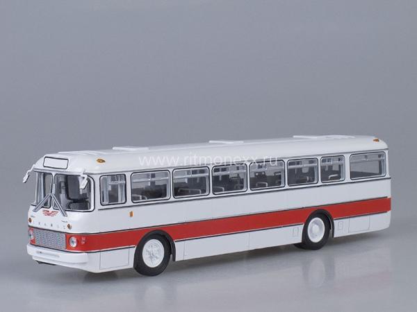 Икарус(Ikarus) - 556 (Советский автобус) [1962г., белый/красный, 1:43]