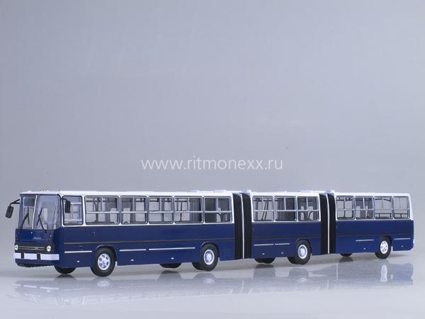 Икарус(Ikarus) - 293 (Советский автобус) [1988г., синий/белый, 1:43]