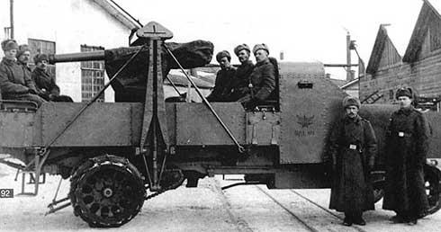 """Руссо Балт бронеавтомобль на шасси модели """"Т (Студия МАЛ / Lermont) [1915г., зеленый, 1:43]"""