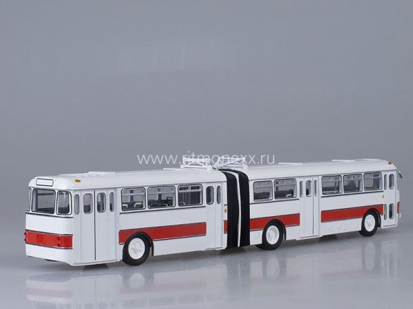 Икарус(Ikarus) -180 (Советский автобус) [1964г., белый/красный, 1:43]