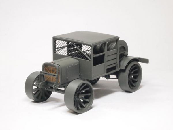 Руссо-Балт Т40/65 (тягач артиллерийских мишеней) (Студия МАЛ / Lermont) [1914г., серый, 1:43]