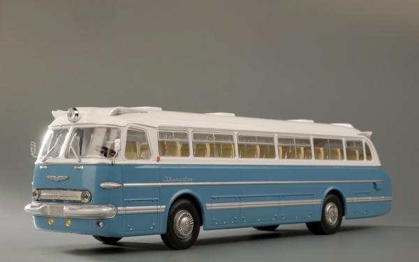 ИКАРУС (Ikarus)-55.13 перевыпуск (Classicbus) [1963г., белый/голубой, 1:43]