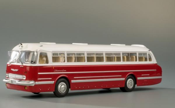 ИКАРУС (Ikarus)-55.14 (Classicbus) [1963г., бордовый/белый, 1:43]