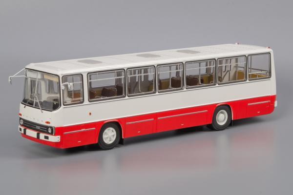 ИКАРУС(Ikarus)-260 «Прибалтика» (Classicbus) [1972г., бело-красный, 1:43]