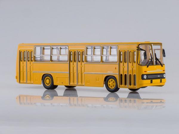 Ikarus-260 (Советский автобус) [1972г., желтый, 1:43]