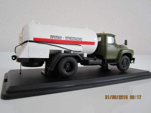 АГЗ( 130) (Nik-models) [1985г., хаки, 1:43]