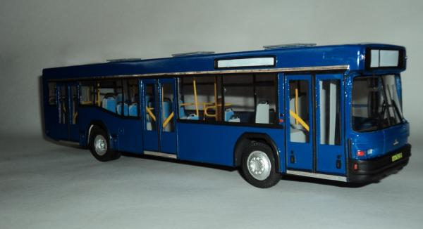МАЗ-103 (Киммерия) [1996г., синий, 1:43 и]