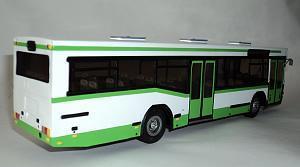 МАЗ-104 (Киммерия) [1996г., белый/зеленый, 1:43]