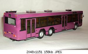 МАЗ-107 (Киммерия) [2001г., феолетовый, 1:43]