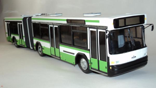 МАЗ-105 (Киммерия) [1997г., белый/зеленый/черный, 1:43]