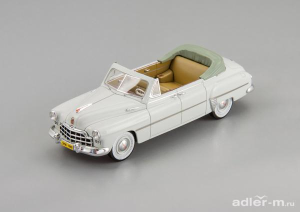 ГАЗ(ЗИМ)-12 кабриолет (DiP Models) [1950г., Светло-серый, 1:43]