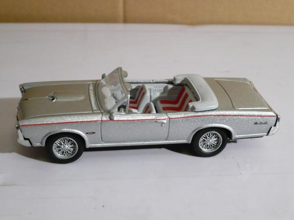 Pontiac GTO (New Rey) [1966г., серебристый металлик, 1:43]