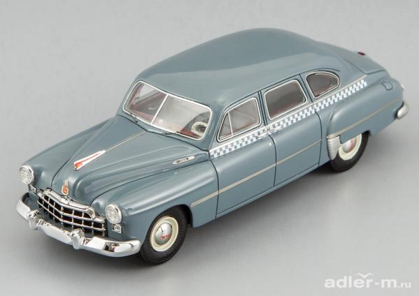 ГАЗ(ЗИМ)-12 (DiP Models) [1950г., серо-синяя, 1:43]