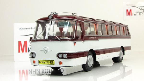 ЛАЗ «Украина-2» (Vector-Models) [1973г., белый/бордовый, 1:43]