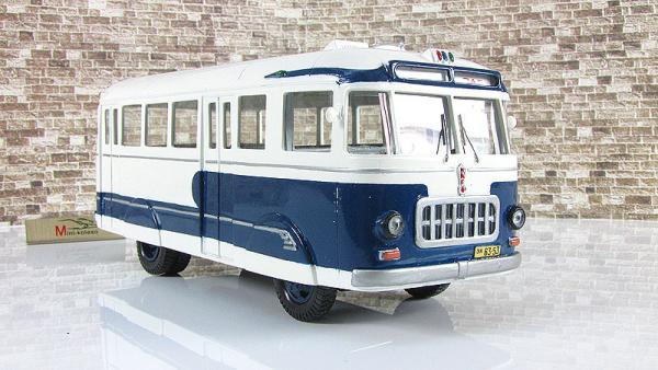 РАФ-251 опытный (Vector-Models) [1955г., синий/белый, 1:43]