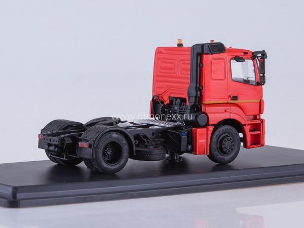 КАМАЗ-5490-S5 седельный тягач (Start Scale Models (SSM)) [2015г., красный/черный/серебрянный, :1:43]