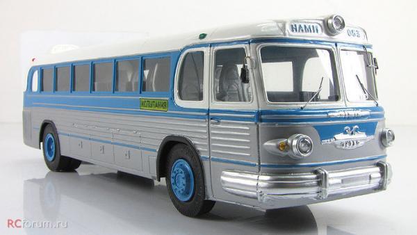 Турбо НАМИ-053 (Vector-Models) [1959г., синий/серебристый, 1:43]