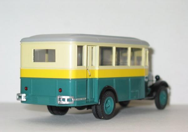 ЗИС-8 (СарЛаб) [1934г., серый/бежевый/желтый/зелёный, :43]