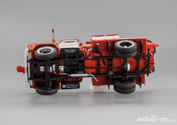 ГАЗ-52(АЦУ-10)(Колхоз «Перемога») (DiP Models) [1978г., красный/белый, 1:43]