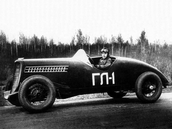ГЛ-1, 1938 года (Конверсия из АЛ) [1938г., черный, 1:43]