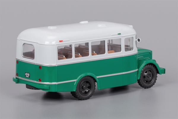 Кавз-651 (Classicbus) [1958г., серый , зелёный, 1:43]