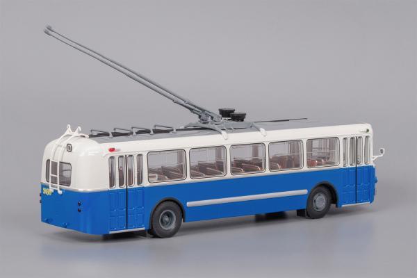 ЗИУ-5г (Classicbus) [1966г., бело-синий, 1:43]