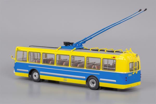 ЗИУ-5г (музейный) (Classicbus) [1966г., жёлто-синий, 1:43]