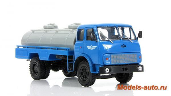 МАЗ-5334 АЦПТ-6,2 (Наш Автопром) [1980г., голубой с серым, 1:43]