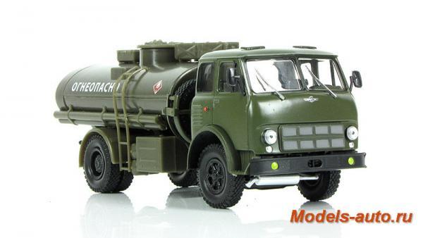 МАЗ-500А АЦ-8 (хаки) (Наш Автопром) [1966г., хаки, 1:43]